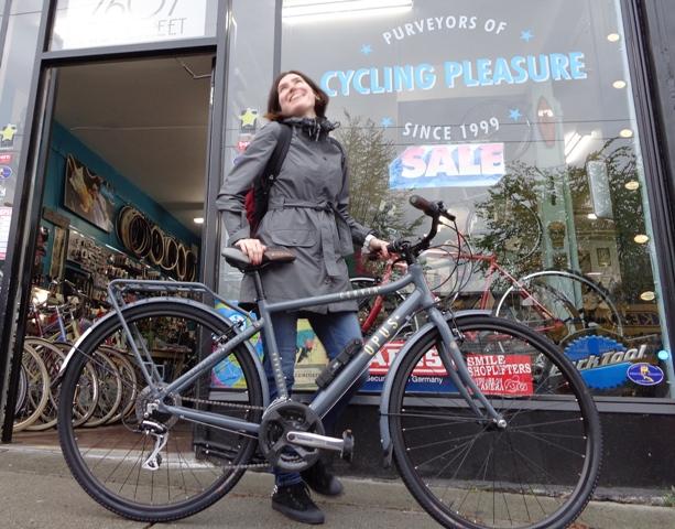 Slick Commuter bike Style