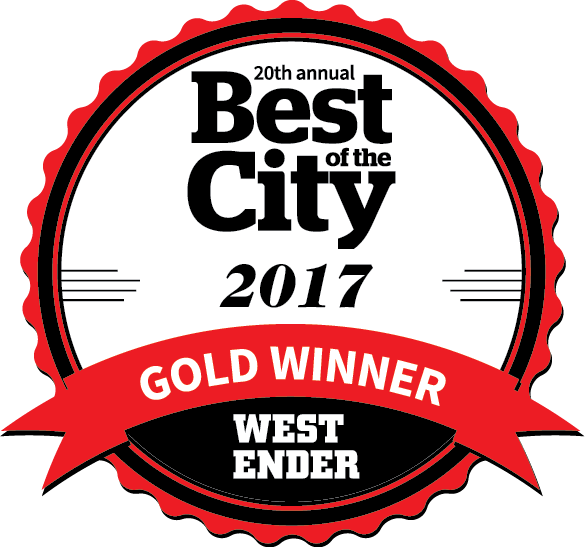 Voted # 1 In Best of City Awards!