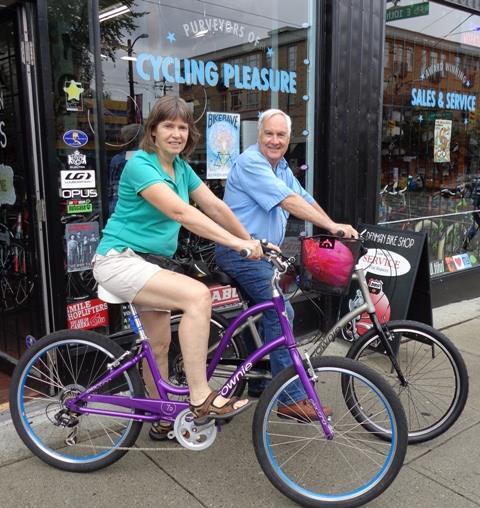 Denman Bikes Electra Townie Couple